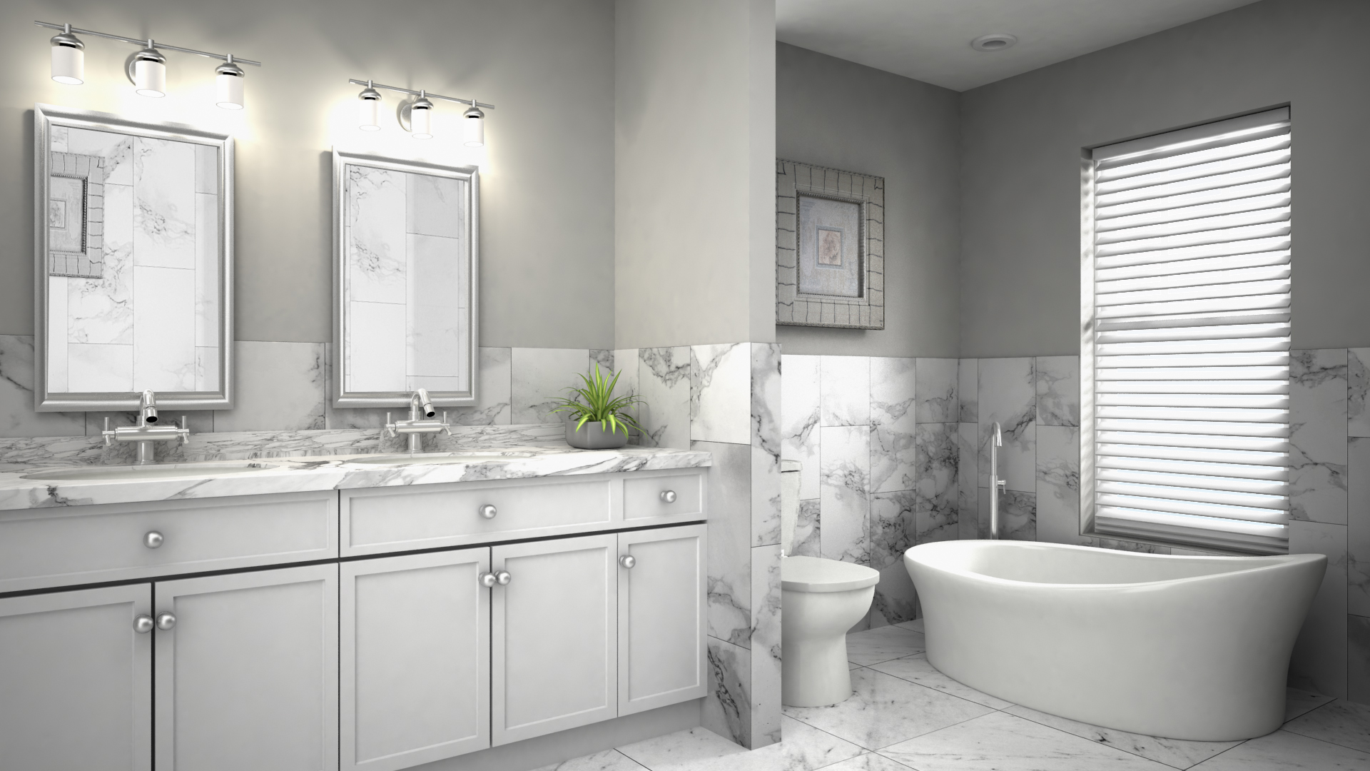 138 W Maple Street – Master Bathroom I
