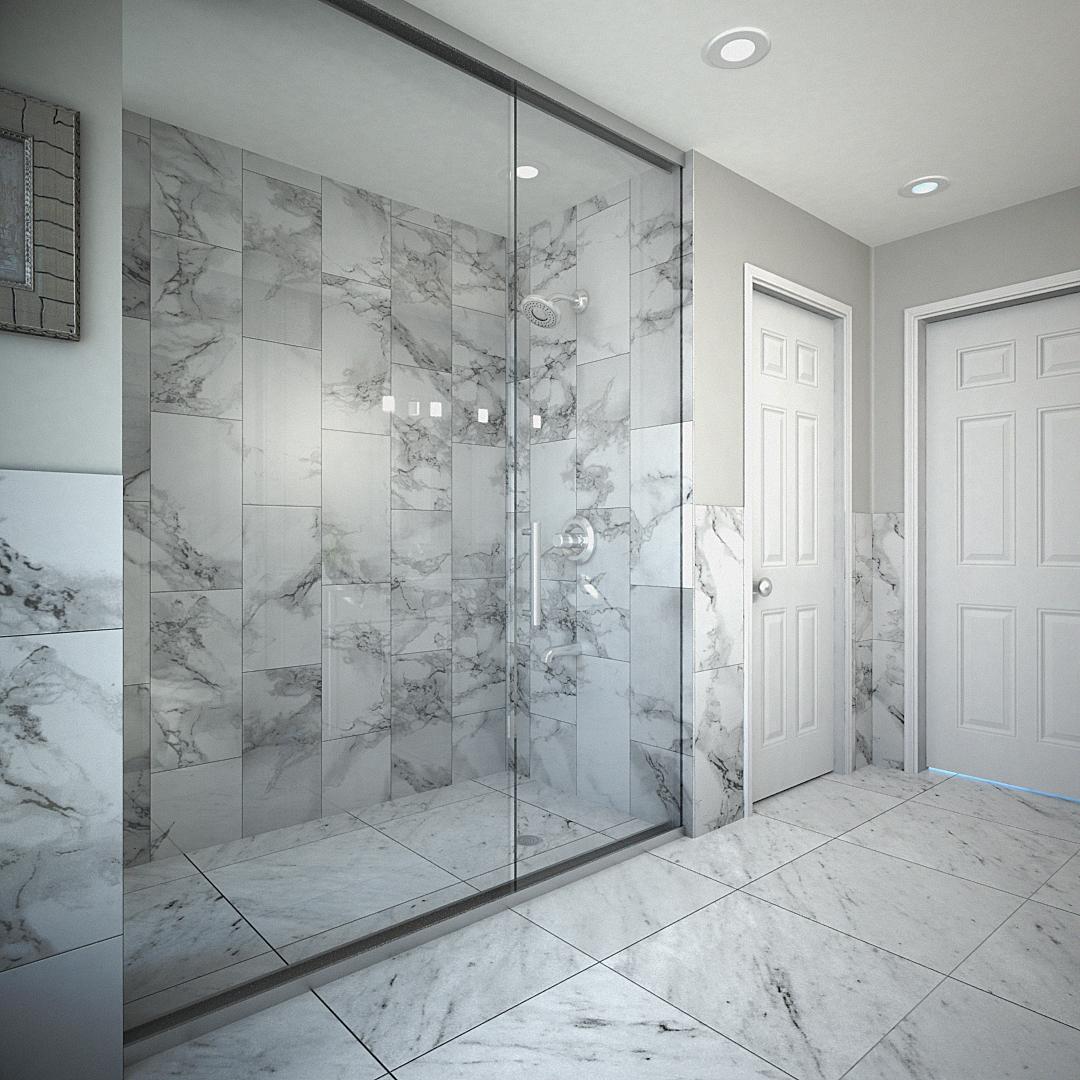 138 W Maple Street – Master Bathroom
